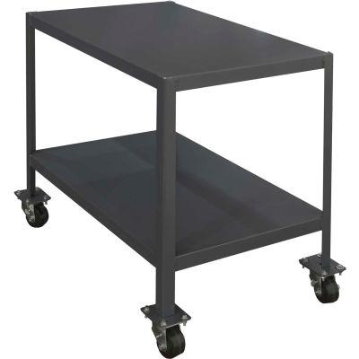 "Durham MTM304836-3K295 48""W X 30""D X 36""H Machine Table with 2 Shelves"
