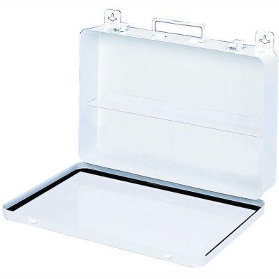 First Aid Box Metal - 13-11/16x2-3/8x9-1/8 - Pkg Qty 6