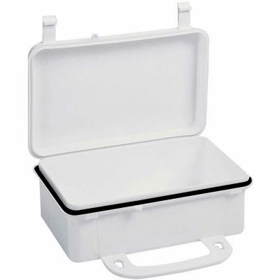 "First Aid Box Polypropylene W/ Gasket - 7-11/16"" x 2-3/8"" x 4-9/16"" - Pkg Qty 50"