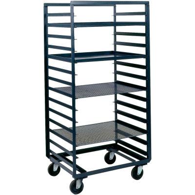 Durham Mfg® Mobile Steel Pan & Tray Rack PAT-36-4-14-95 33x36 14 Tray Capacity