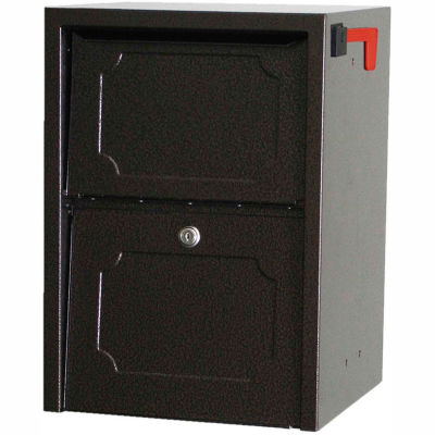 dVault Weekend Away Secure Mailbox with Vault DVJR0060 - Front Access - Copper Vein