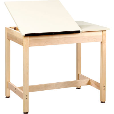 """Drafting Table 36""""L x 24""""W x 30""""H - 2 Piece Top"""
