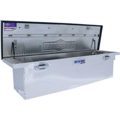 "Better Built SEC Aluminum 72"" Crossover Truck Box, Single Lid Low-Pro Deep - 79010902"