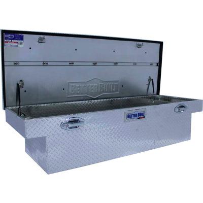 "Better Built SEC Aluminum 70"" Crossover Truck Box, Single Lid Deep/Wide - 79010923"