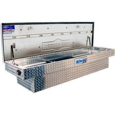 "Better Built SEC X2 Aluminum 61-1/2"" Crossover Truck Box, Single Lid - 79011754"