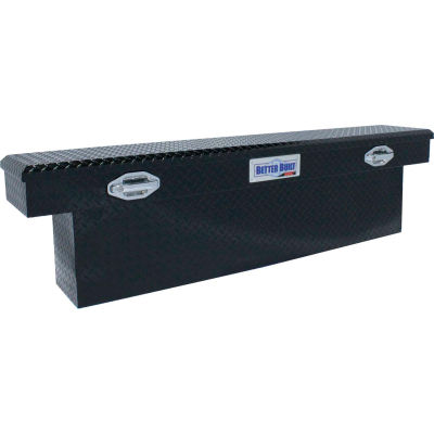 "Better Built SEC Aluminum 72"" Crossover Truck Box, Single Lid Narrow Black -79210904"