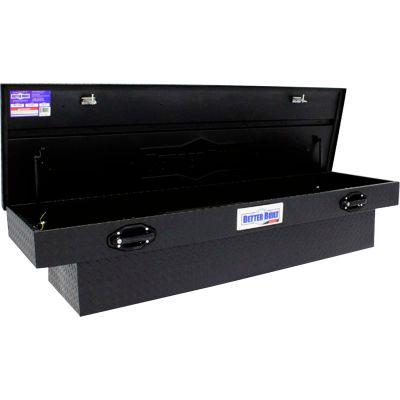"Better Built SEC Aluminum 72"" Crossover Truck Box, Single Lid Matte Black - 79211093"