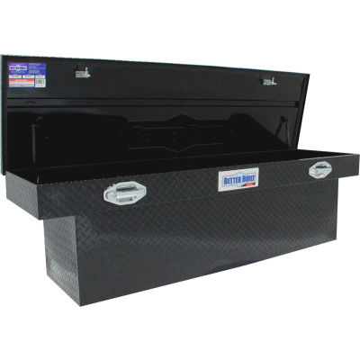 "Better Built SEC Aluminum 70"" Crossover Truck Box, Single Lid Wide Black - 79212419"