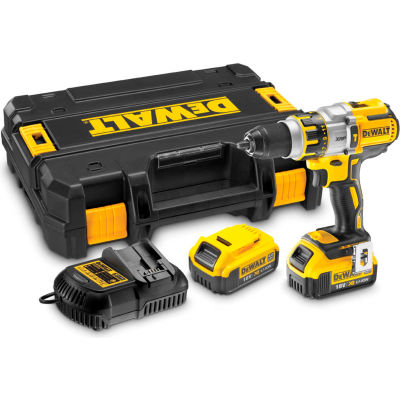 DeWALT DCD996P2 20V MAX XR Li-Ion Brushless Premium 3-Speed Hammer Drill Kit (4.0AH)