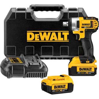 "DeWALT DCF880M2 20V Max Lithium Ion 1/2"" Impact Wrench w/ Detent Pin 4.0AH Kit"