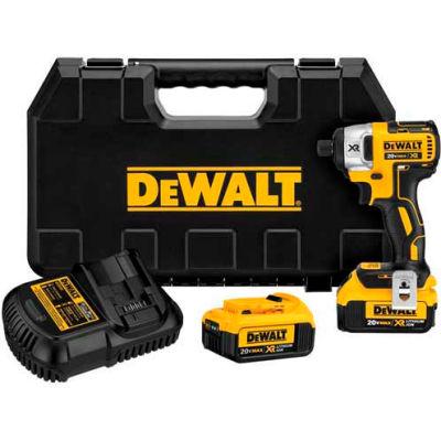 "DeWALT DCF887M2 20V MAX XR Lithium-Ion Brushless 1/4"" Impact Driver 4.0AH Kit"