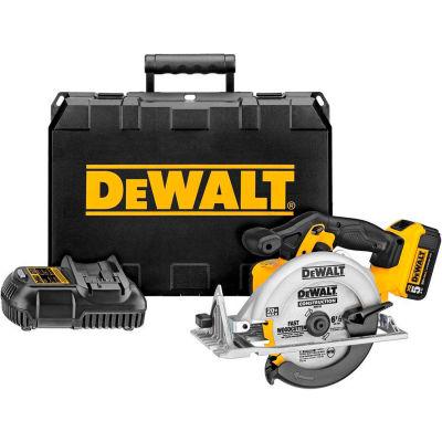 "DeWALT® DCS391P1 20V MAX 6-1/2"" Circular Saw Kit (5.0 AH)"