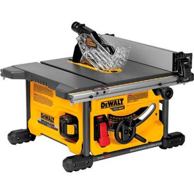 """DeWalt DCS7485T1 Flexvolt 60V Max Table Saw Kit 8-1/4"""" (1 Battery)"""