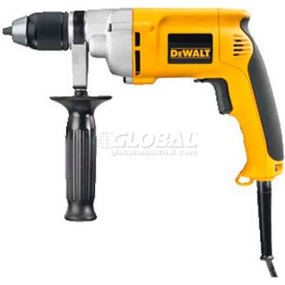 """DeWALT 1/2"""" VSR Drill W/Keyless Chuck, DW246, 7.8 Amps, 600W, 0-600 RPM, Triple Gear Reduction"""