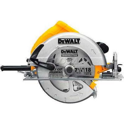 """DeWALT® 7 1/4"""" Lightweight Circular saw, DWE575, 5200 RPM, 2.55"""" Cut Depth"""