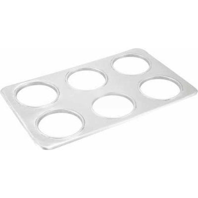 Winco ADP-444 6 Hole Adaptor Plate - Pkg Qty 10