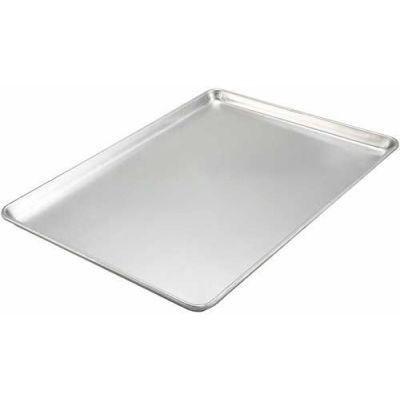 """Winco ALXP-1826 - Aluminum Sheet Pans, Full Size, 18 Ga., 18"""" x 26"""" - Pkg Qty 12"""