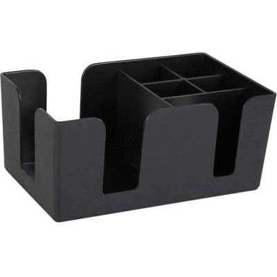 Winco BC-6 Bar Caddy, 6 Compartment - Pkg Qty 12