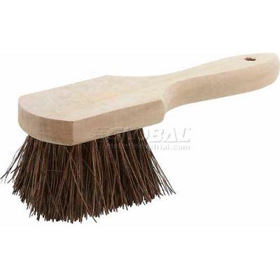 Winco BRP-10 Pot Brush W/ Wooden Handle - Pkg Qty 12