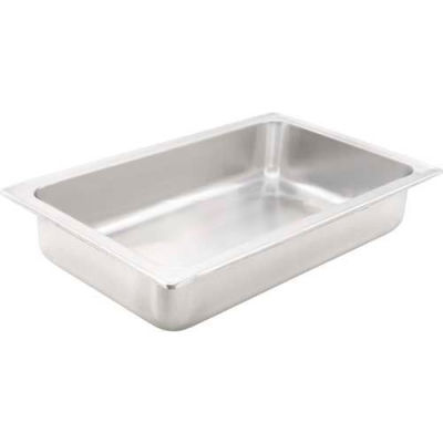 "Winco C-WPF Full-Size Dripless Water Pan, 4"" - Pkg Qty 6"