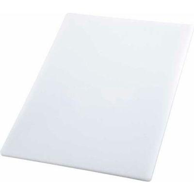 """Winco CBWT-1520 Cutting Board, 15""""L, 20""""W, 1/2""""H, White - Pkg Qty 6"""