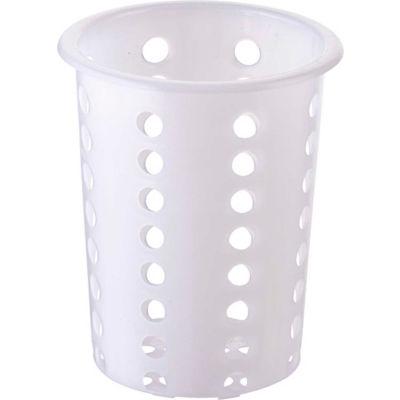 Winco FC-PL Flatware Cylinder, Plastic - Pkg Qty 24