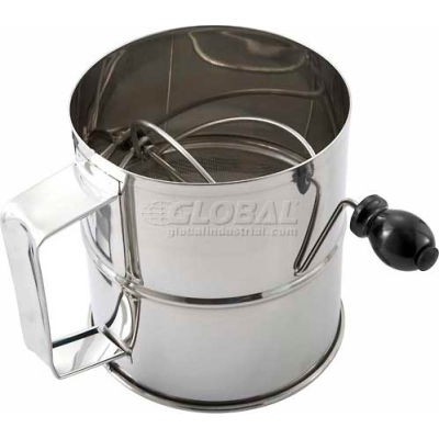 Winco RFS-8 Rotary Sifter, 8 Cup - Pkg Qty 12