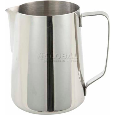 """Winco WP-50 Pitcher, 50 oz, 6-1/4"""", Stainless Steel - Pkg Qty 3"""