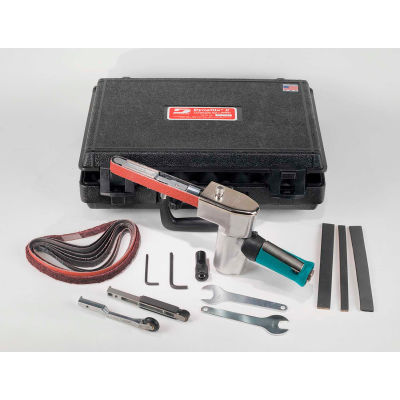 Dynabrade 40321 Dynafile II Abrasive Belt Tool Versatility Kit, .5HP, 20,000 RPM, Front Exhaust