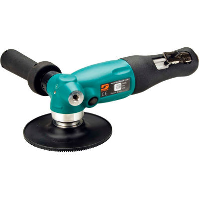 """Dynabrade 52635 5"""" Dia. Right Angle Disc Sander, 1.3HP, 12,000 RPM, Rotational Exhaust"""