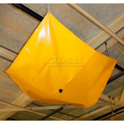 "ENPAC® Drip Dam / Leak Diverter, 6' x 6' x 1/4"", 460606-YE"