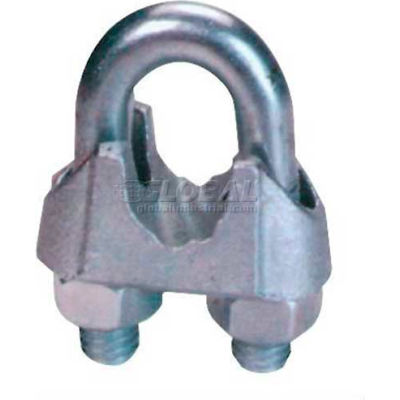 "Elite Sales DFC18 1/8"" Drop Forged Wire Rope Clip - Pack of 50"