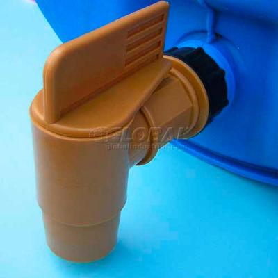 "ScopeNEXT HFDT 2"" High Flow Polyethylene Plastic Drum Faucet"