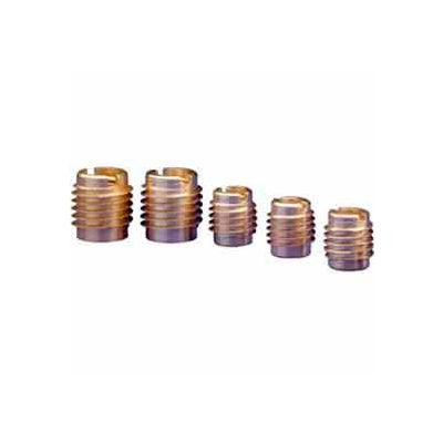 8-32 Insert For Hard Wood - Brass - 400-008 - Pkg Qty 25