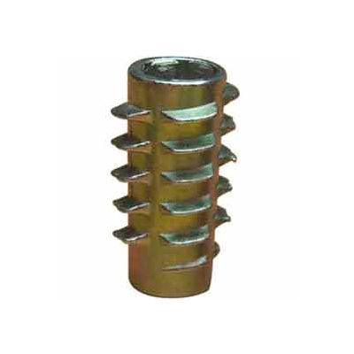 M6-1.0 Insert For Soft Wood - Flush - 800610-13 - Pkg Qty 50