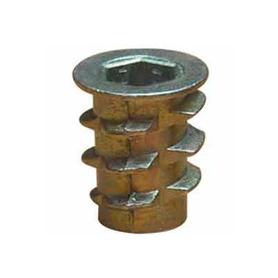 M6-1.0 Insert For Soft Wood - Flanged - 900610-20 - Pkg Qty 50
