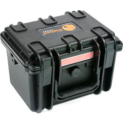 "Elephant® Watertight Case With Foam E100 - 9-5/8""x7-1/4""x6-1/8"""