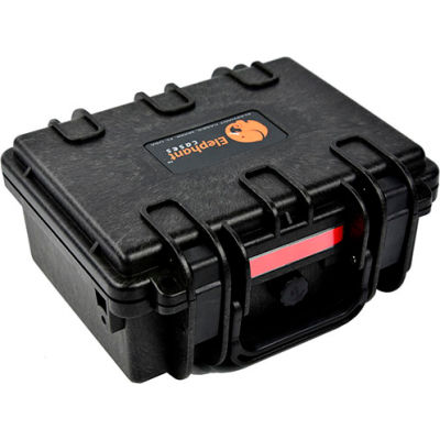"Elephant® Watertight Case With Foam E120 - 9-5/8""x8-1/2""x4-5/8"""