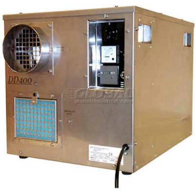 Industrial Desiccant Dehumidifier, 8 Amps, 1800W, Removes 71 Pints/Day