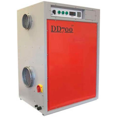 Industrial Desiccant Dehumidifier DD700 460V, 8 Amps, 6200W, 231 Pints