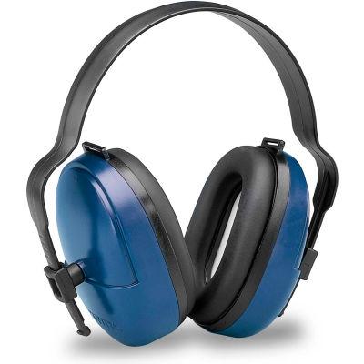 Elvex® ValueMuff™ Earmuff, Dielectric, NRR 25, Blue/Black, 1 Pair