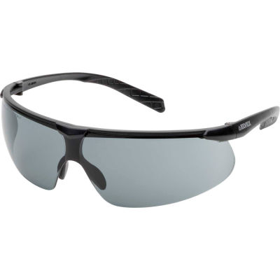 Elvex® Helium 20™ Lightweight Safety Glasses, Anti-Fog Gray Lens - Pkg Qty 12