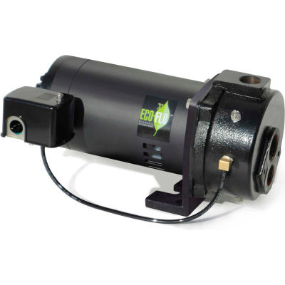 Eco Flo EFCWJ10 Deep Well Convertible Jet Pump - 1-1/4 In. FNPT Inlet- 1 HP - 115/230V - 14.8 GPM