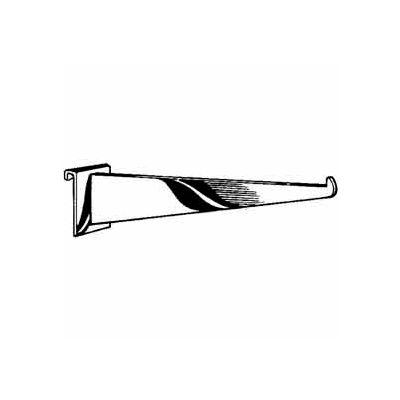 "12"" Shelf Bracket - Semi-Gloss Black - Pkg Qty 48"