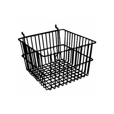 """12""""W X 12""""D X 8""""H Deep Basket - Semi-Gloss White - Pkg Qty 6"""