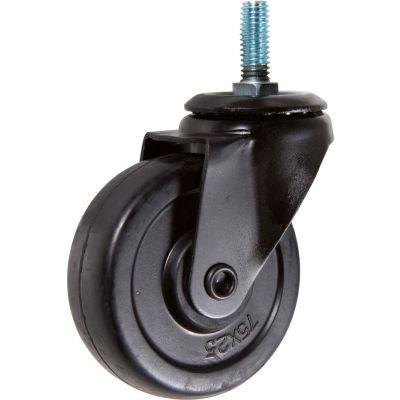Econoco CASPS Non-Locking Pipeline Caster 100 Lbs. Capacity - Pkg Qty 20
