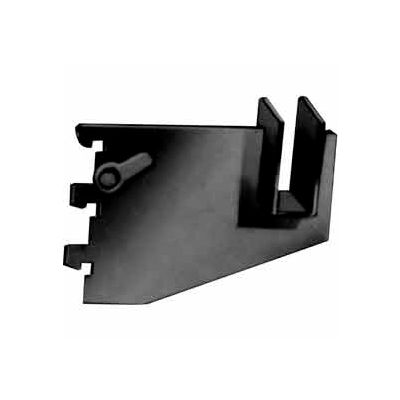 "3"" Blade Bracket For Rectangular Tubing W/ Nylon Stabilizer - Matte Black - Pkg Qty 25"