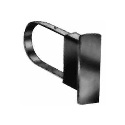 "Extended End Cap For 1/2"" X 1-1/2"" Rectangular Tubing - Satin Chrome - Pkg Qty 100"