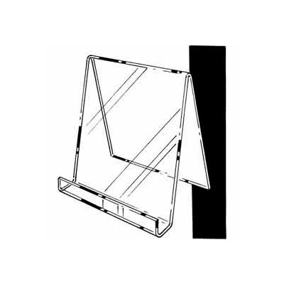 "9""W X 11""H Easel W/ 1""D Opening - Clear - Pkg Qty 12"