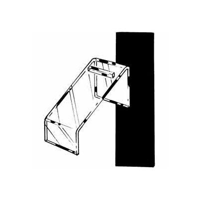 """Economy Style 7""""L Shoe Riser - Clear - Pkg Qty 24"""
